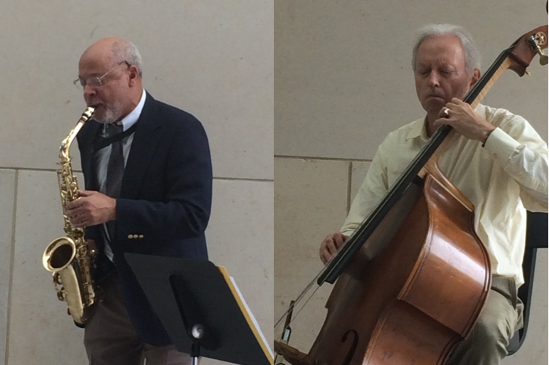 Gerald Spaits & Charles Perkins at Johnson County Community College